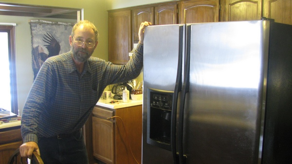 New Fridge for Red Pine, how much did he pay?