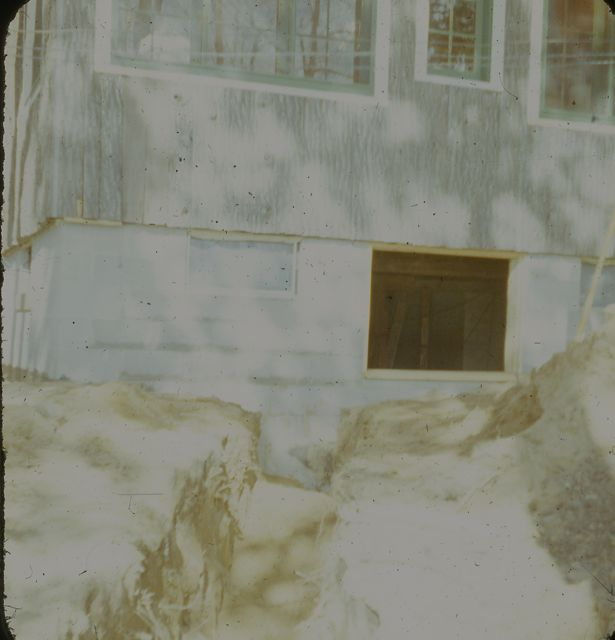 1959 View of back of house