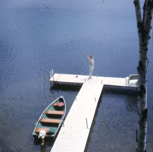 1963 Steve Semmelmeyer down at lake