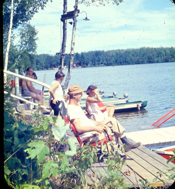 1958 Group watching
