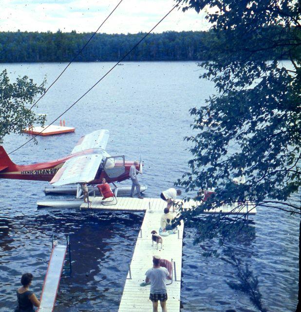 1958 Seaplane Mrs Taylor, Rocky and Mr Myer