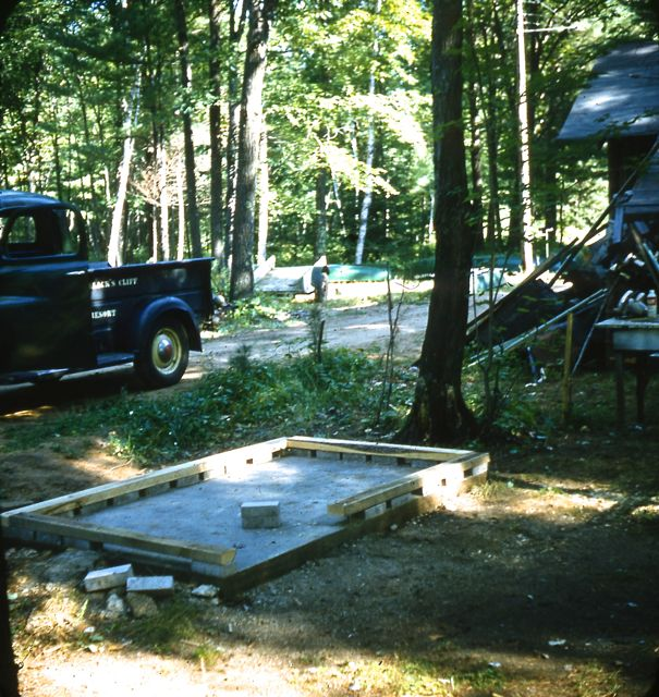 1960 Platform for fishhouse