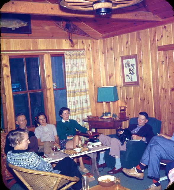 1958 Cocktail party
