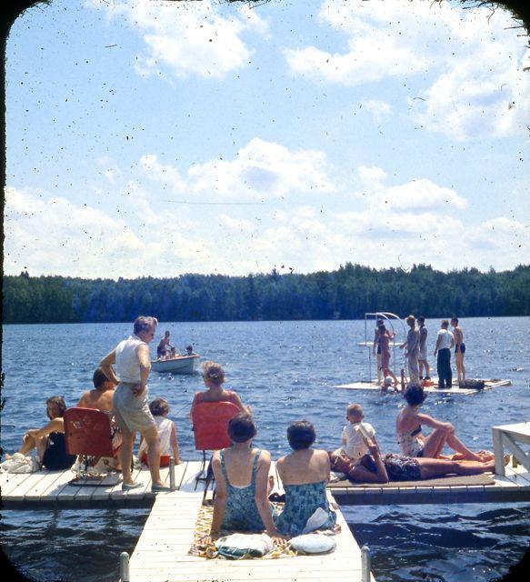 1958 launching raft