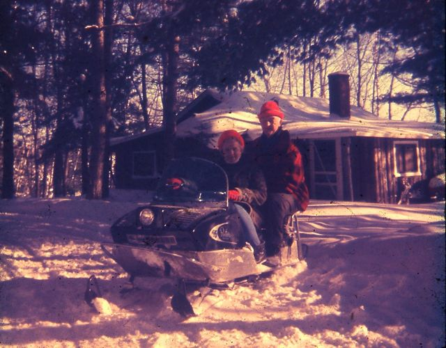 Resort 1969 Maynard and Millie snowmobile