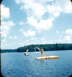 1959 Flips on the raft